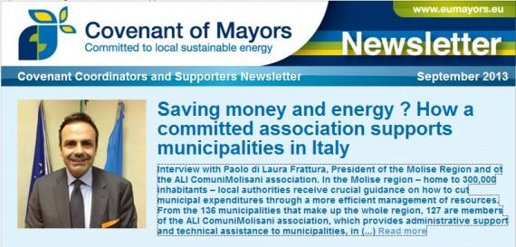 intervista covenant of mayors